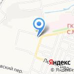 Барса на карте Астрахани