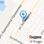 Почтовое отделение №18 на карте Астрахани