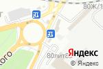 Схема проезда до компании Цветочный домик в Астрахани