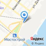 Цветочный домик на карте Астрахани