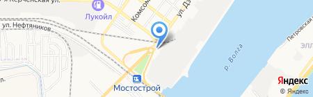 Мир Цветов на карте Астрахани