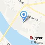 Рубин на карте Астрахани