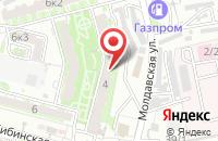Схема проезда до компании Мегавольт в Астрахани