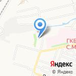 Детская поликлиника на карте Астрахани