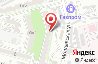 Схема проезда до компании Астравита в Астрахани