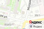 Схема проезда до компании Звездное в Астрахани