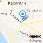 Индира на карте Астрахани