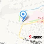 Пивная бухта на карте Астрахани