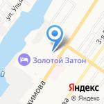 Управление пенсионного фонда РФ в Советском районе г. Астрахани на карте Астрахани