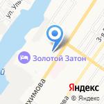 Звездный замок на карте Астрахани