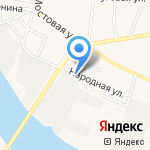 Амбулатория на карте Астрахани