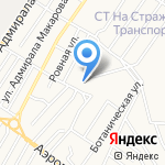 Царская банька на карте Астрахани