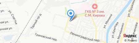 Теремок на карте Астрахани