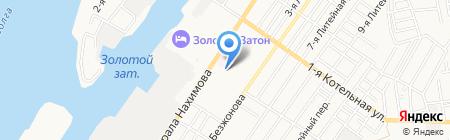 Аннушка на карте Астрахани
