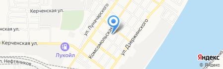 Детский сад №54 Полянка на карте Астрахани