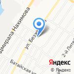Школа-интернат одаренных детей им. А.П. Гужвина на карте Астрахани