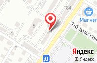 Схема проезда до компании Надежный бухгалтер в Астрахани