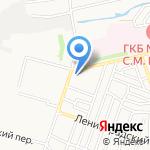 Библиотека №16 на карте Астрахани