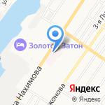 Областной кардиологический диспансер на карте Астрахани