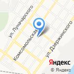 Полянка на карте Астрахани
