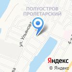 Интурист СПА на карте Астрахани
