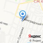 АвтоЖесть на карте Астрахани