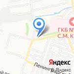 Храм Святого Георгия Победоносца на карте Астрахани