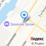 ЕАТП Банк на карте Астрахани