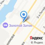 Данко на карте Астрахани