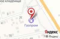 Схема проезда до компании АЗС Газпром в Солянке