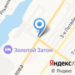 МЯСОКОМБИНАТ АСТРАХАНСКИЙ на карте Астрахани