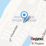 Каспий Индустрия на карте Астрахани