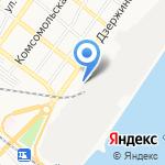 Дока на карте Астрахани