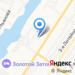 Универсамчик на карте Астрахани