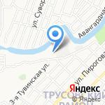 Детский сад №65 на карте Астрахани