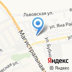 Детский сад №96 на карте Астрахани