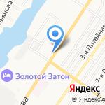 КАМЕЛИЯ на карте Астрахани