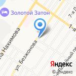 Пивка на карте Астрахани