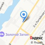 Пивбум на карте Астрахани