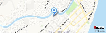 АРМАДААВТО на карте Астрахани