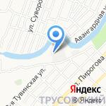 Пункт технического осмотра и автострахования на карте Астрахани