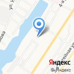 Дом у Пролетарского на карте Астрахани
