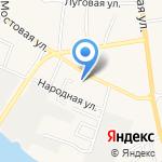 Магазин отделочных и хозяйственных товаров на карте Астрахани