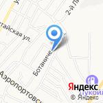 Транспортная фирма на карте Астрахани