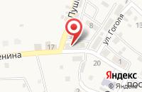 Схема проезда до компании Почтовое отделение в Стеклозаводе
