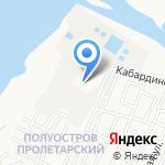 Юг-Мебель на карте Астрахани
