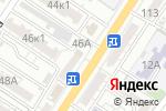Схема проезда до компании Зевс в Астрахани