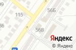 Схема проезда до компании Фабрика вкуса в Астрахани