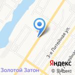 Клевая рыбалка на карте Астрахани