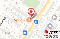 Схема проезда до компании Флагман в Астрахани